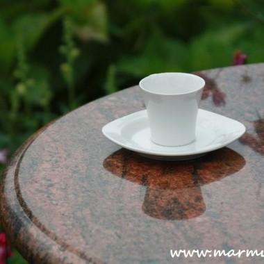 Blaty granitowe do stolików kawiarnianych/ogrodowych