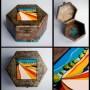 Dekoracje, DREWNIANE-RĘCZNIE MALOWANE -szkatułki