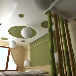 Sypialnia w zgodzie z naturą...