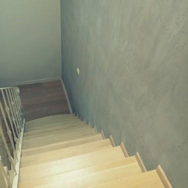 Ściana z betonu