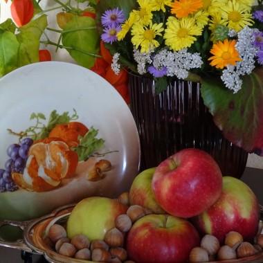 Tym razem moje ostatnie zakupy obrazkowe w towarzystwie jesiennych stylizacji ogrodowych.