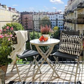 Balkon - nasz mały ogrodowy raj :)