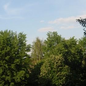 Po burzy...niebo z okna mojej sypialni.
