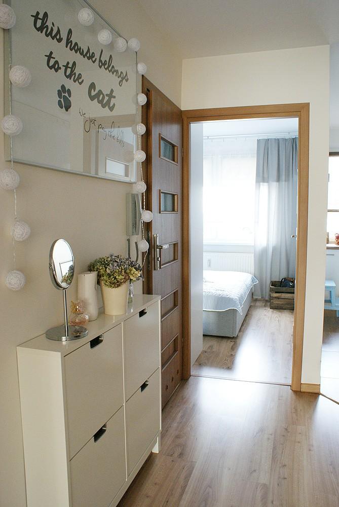 Domy i mieszkania, Skandynawskie klimaty - dużo zdjęć, salon, sypialnia