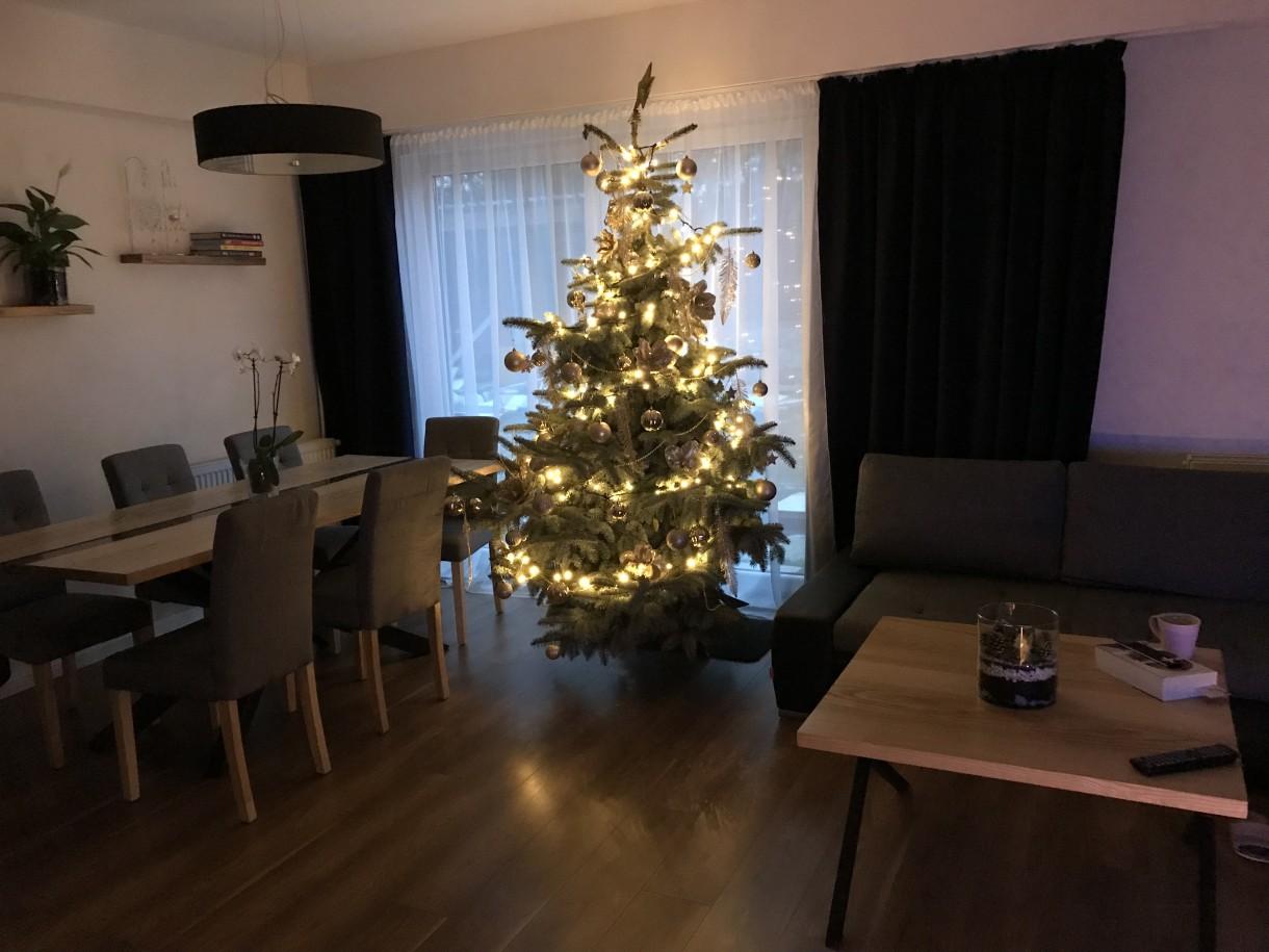 Pozostałe, Nasz nowy Dom - Salon w świątecznej odsłonie.