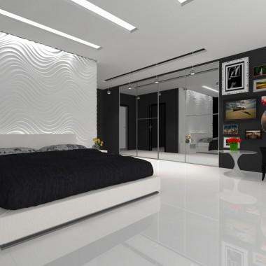 Elegancja w czerni i bieli