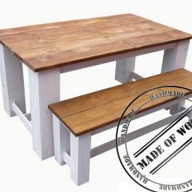 Masywne meble drewniane