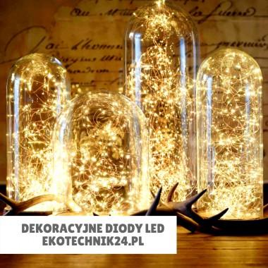 Dekoracyjne diody LED. Na święta lub romantyczny wieczór we dwoje.