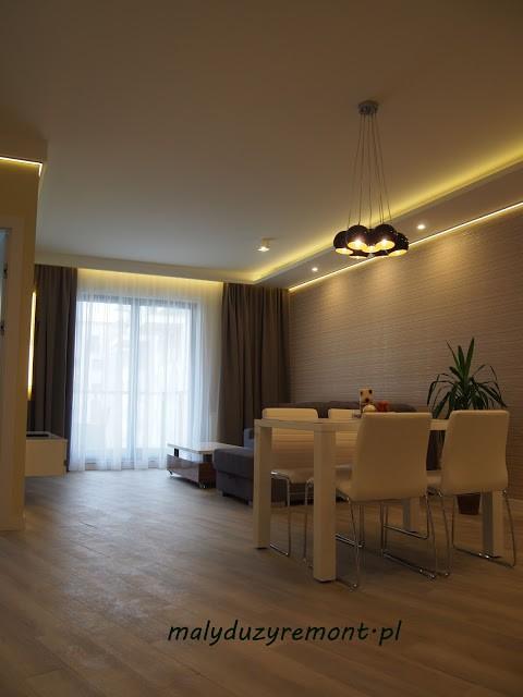 Salon, Apartament w Gdańsku - www.malyduzyremont.pl