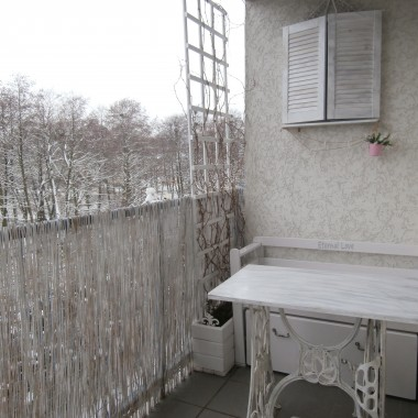 Zimowy balkon