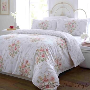 Pastelowe róże - pościel Vantona