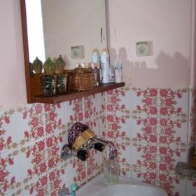 malenka rózowa łazienka