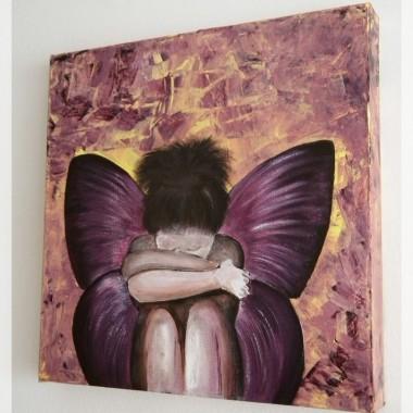 fioletów ciąg dalszy... z aniołem do kompletu