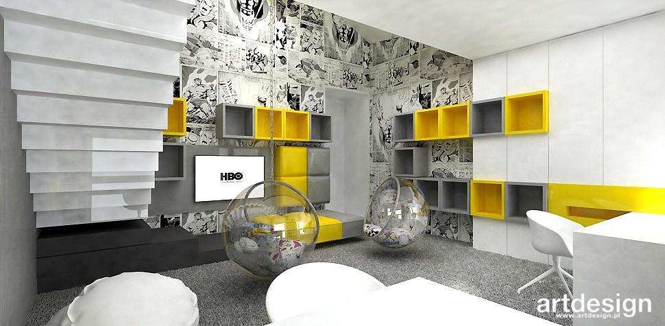 Garderoba, ARTDESIGN PERFORMANCE. Wnętrza domu (cz. 2) - pokój dzieci