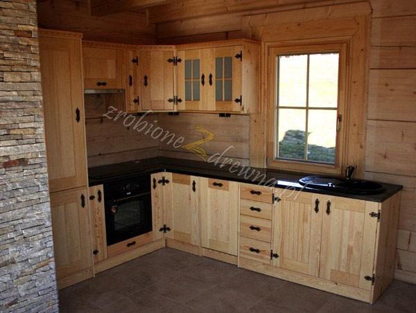 Zdjęcie 612 W Aranżacji Meble Kuchenne Kuchnie Drewniane
