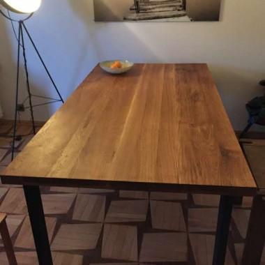 Stół 2,2m.... znika we wnętrzu :)