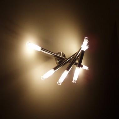 lampy w salonie :)