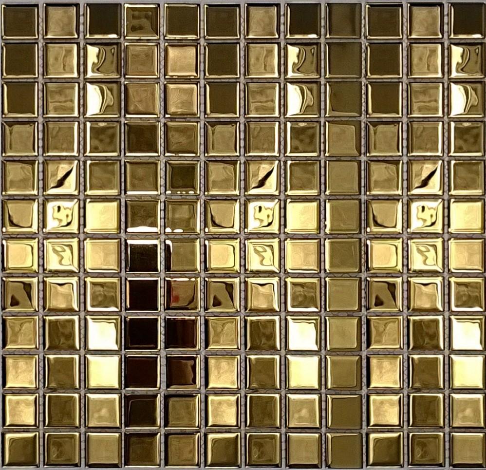 Złote Plytki Zlote Mozaiki Złota łazienka Deccoriapl