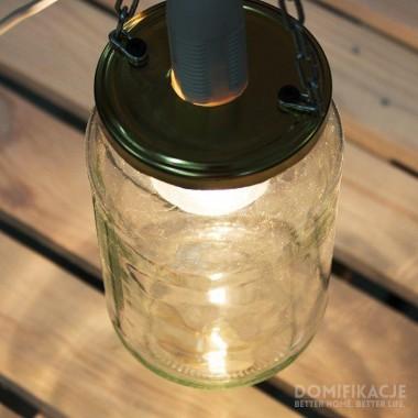 Lampa ze słoika