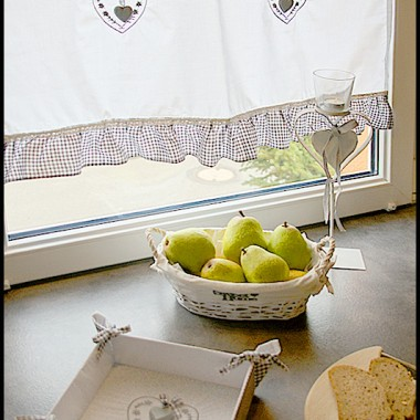 Przy śniadaniu planowaliśmy kolejne galerie dla Was :)Zachwycaliśmy się urokiem delikatnych, zimowych dodatków w bieli.