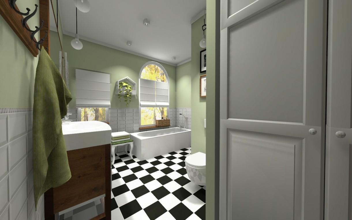 Zdjęcie 38 W Aranżacji łazienka W Kamienicy Styl