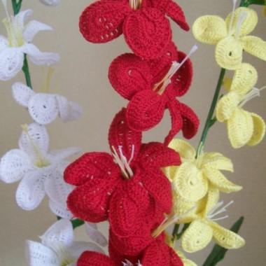 Mój szydełkowy raj kwiatowy- florystyczne inspiracje