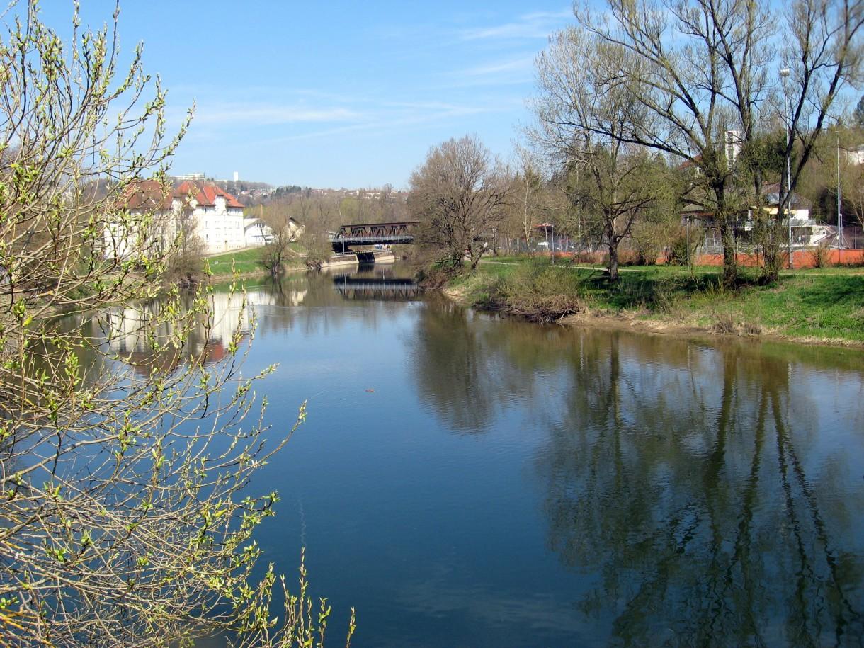 Nad pięknym modrym Dunajem.....