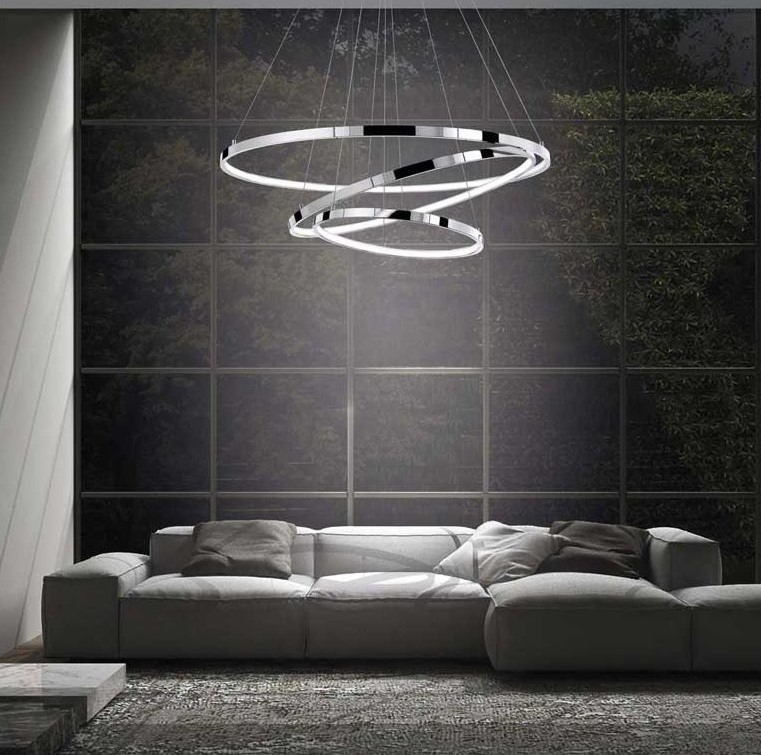 Salon, Lampa wiszaca LED Ring III - Lampa LED Ring III