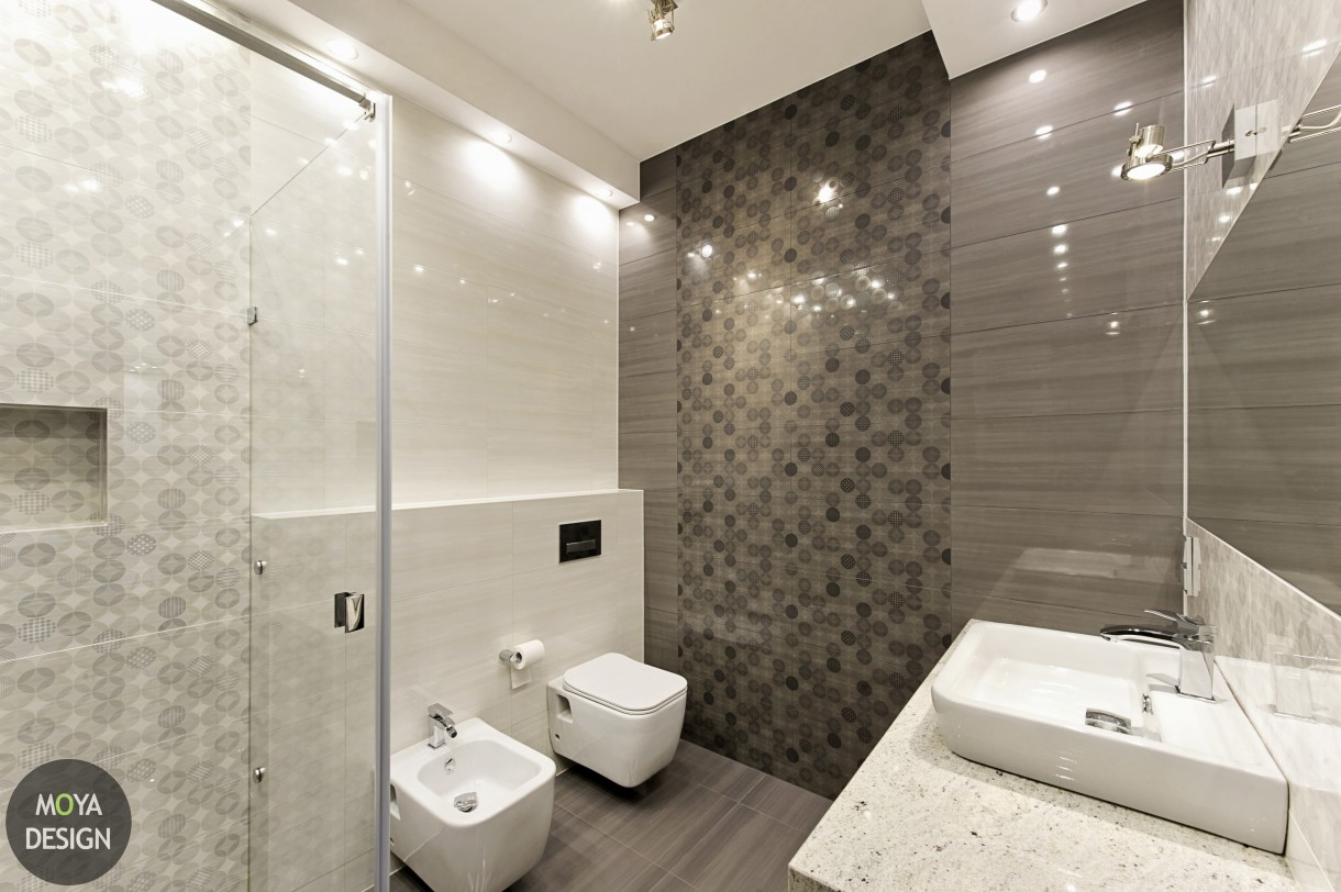 łazienka W Szarościach Deccoriapl