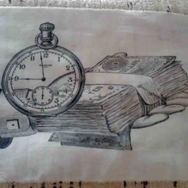 ....czas to pieniądz....