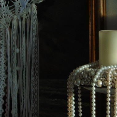 .................i koronki ..........i perły................