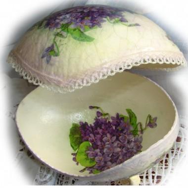 jajo strusie-szkatułka