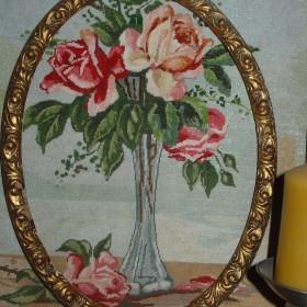 Motyw róży w moim mieszkanku