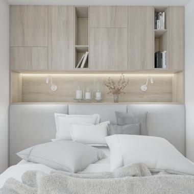 Sypialnia - mieszkanie Warszawa