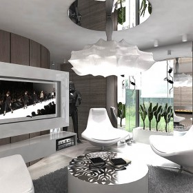 apartament - projekt wnętrz