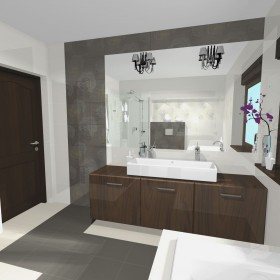 łazienki wizualizacje