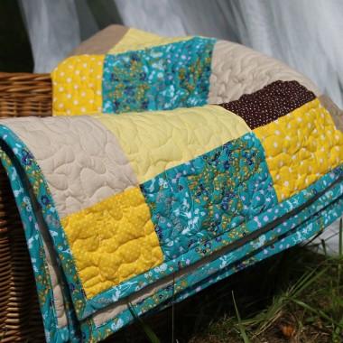 Słoneczny quilt
