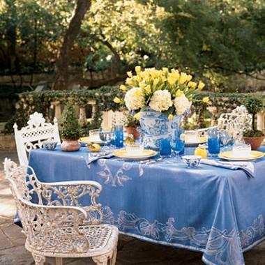 Wakacyjne dekoracje stołów