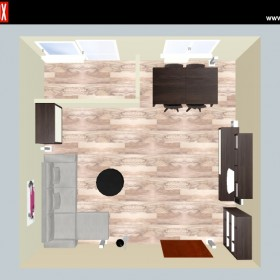 projekt pokoju - symulacja