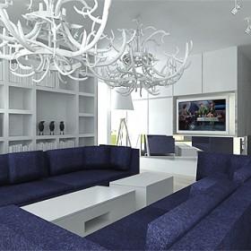 wnętrze luksusowej rezydencji