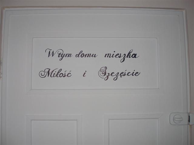 Przedpokój, Stare-nowe drzwi