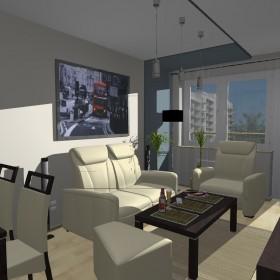 Pokój dzienny w mieszkaniu