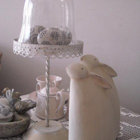 Moja Wielkanoc ma kolor biały...............