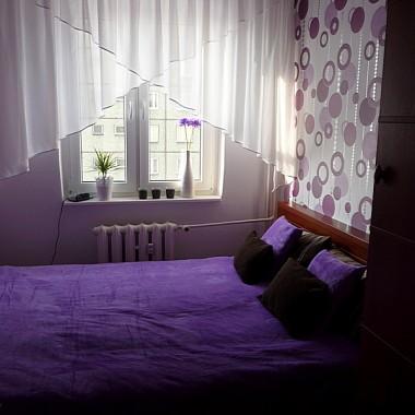 Moja mała fioletowa sypialnia!!!