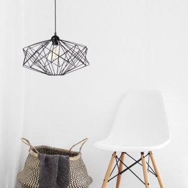 Druciana lampa wisząca Nicolas