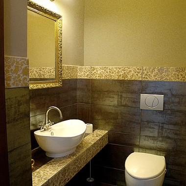 łazienki Z Niewielką Ilością Kafelek Deccoriapl
