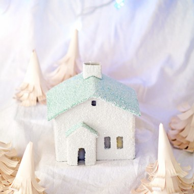 Świąteczne latarenki z papieru