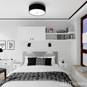 Projekt wnętrza sypialni - Warszawa