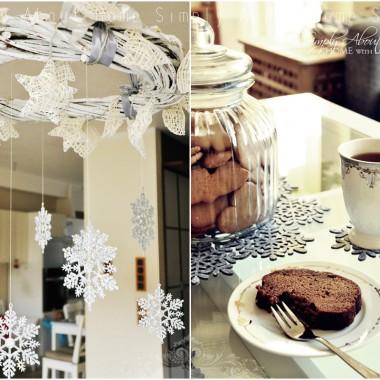 Zimowo, świątecznie, srebrzyście...