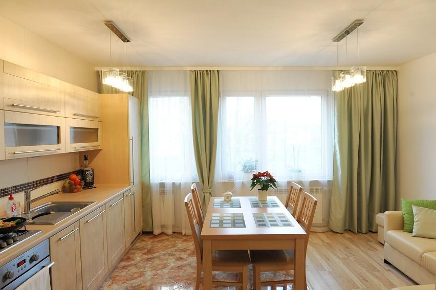 Salon, kuchnia z salonem